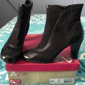 Brand new size 9.5 black bootie